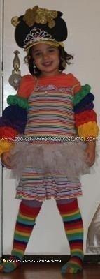 Homemade Rainbow Costume