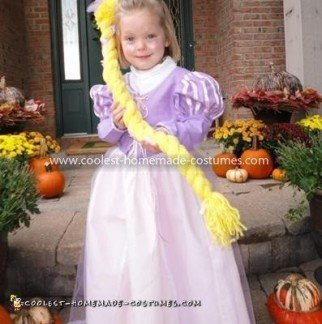 Coolest Rapunzel From Tangled Costume