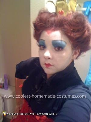 Homemade Red Queen and Mad Hatter Costume