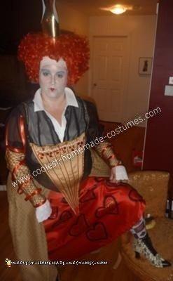 Red Queen from Alice in Wonderland Adult Halloween Costume