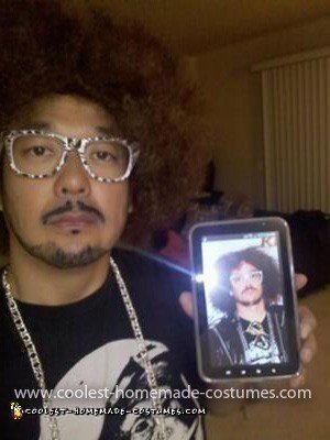 Homemade Redfoo LMFAO Costume