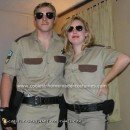 Reno 911 Dangle and Clementine Costumes