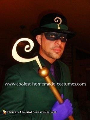 Homemade Riddler Costume