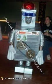 Big A's Robot Costume