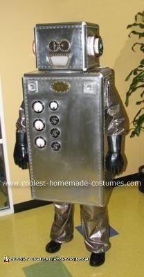 Homemade Robot Halloween Costume
