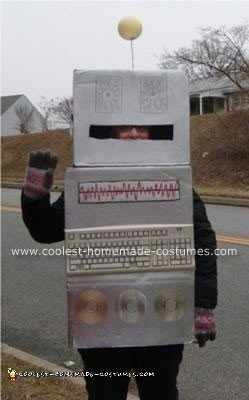 Homemade Robot Halloween Costume
