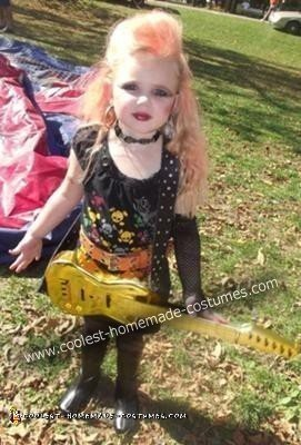 Rockstar Girl Costume