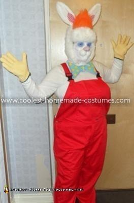 Homemade Roger Rabbit Costume