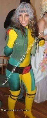 Homemade Rogue from the Xmen Costume