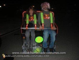Homemade Roller Coaster Costume
