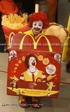 McDonald's Happy Meal & Ronald McDonald Costume