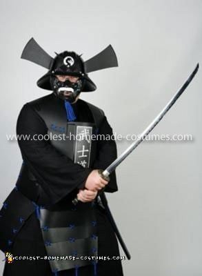 Coolest Rubbermaid Samurai Costume 3