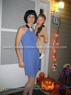 Homemade Rubble Family Costume