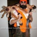 Homemade Rugged Deer Hunter Costume