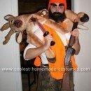 Homemade Rugged Deer Hunter Costume