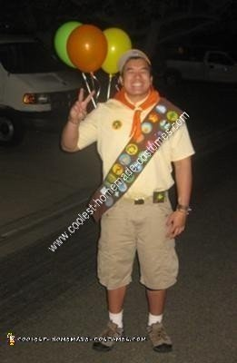 Russell from Up Halloween Costume Idea