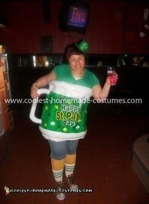 Coolest Saint Patricks Day Beer Mug Costume 17