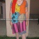 Homemade Sally from Nightmare Before Christmas Costume