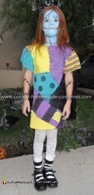 Coolest Sally Ragdoll from the Nightmare Before Christmas Costume 77