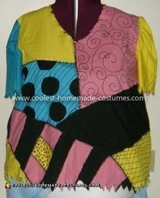 Coolest Sally Stitches Costume - Plus size shirt