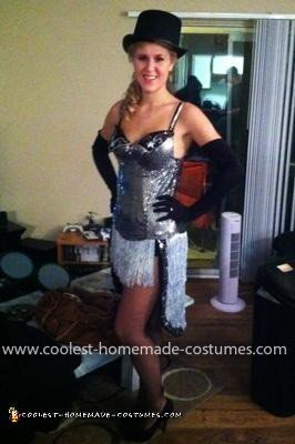 Homemade Satine from Moulin Rouge Costume