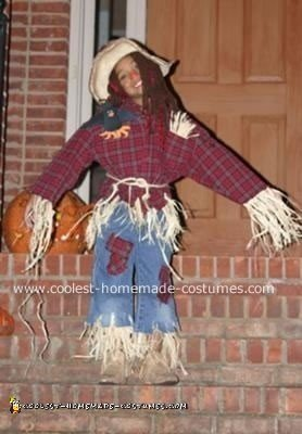 The Cutest Scarecrow Costume