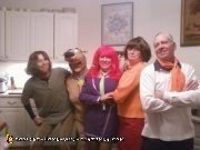 Homemade Scooby Doo and the Mystery Inc Gang Costume