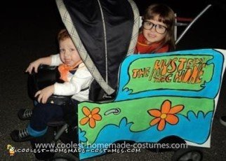Homemade Scooby Doo Group Costume
