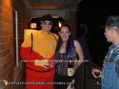 Homemade Scuba Steve Costume