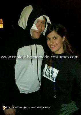 Homemade SeaWorld Trainer and Shamu Couple Costume