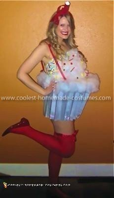 Homemade Sexy Cupcake Costume