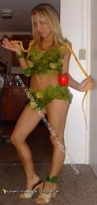 Homemade  Sexy Eve Costume