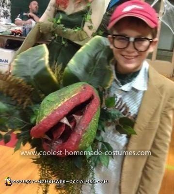 Homemade Seymour from Little Shop of Horrors Costume