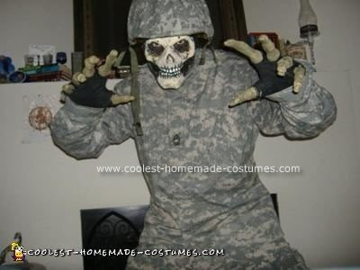 Homemade  Sgt. D Costume from Stormtroopers of Death (S.O.D)
