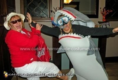 Coolest Shark Attack Costume 6