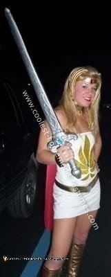 Homemade She Ra Princess of Power Costume