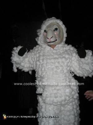 Sheep Halloween Costume