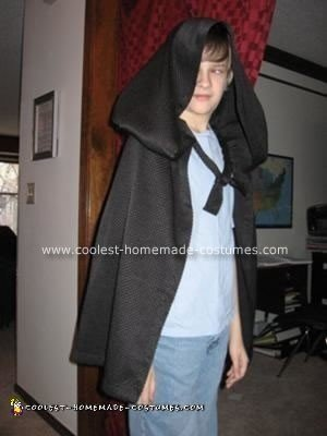 Short Medieval Hooded Cloak