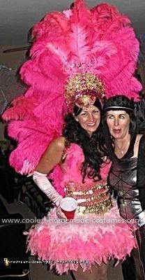 Coolest Showgirl Costume 7