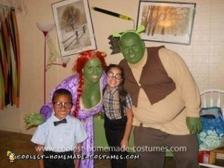 Coolest Shrek and Fiona Costume
