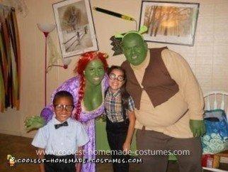 Coolest Shrek and Fiona Costume
