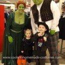 Coolest Shrek and Princess Fiona Costume 25