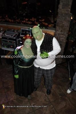 Coolest Shrek and Princess Fiona Costume 25