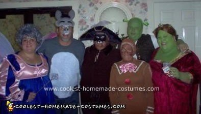Shrek and the Gang Costume