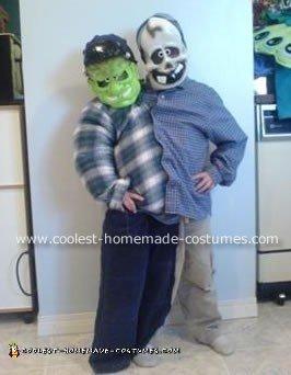 Homemade Siamese Twins Costume