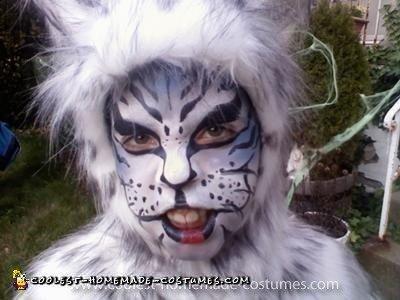 Homemade Siberian Tiger Costume