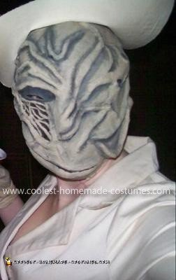 Homemade Silent Hill Bubble Head Nurse Costume