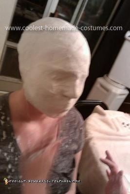 Homemade Silent Hill Bubble Head Nurse Costume