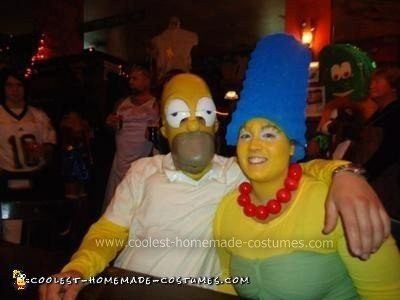 Homer and Marge Costumes