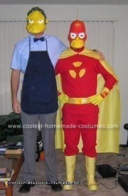 Simpsons Radioactive Man Costume